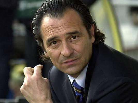 L'allenatore bresciano Cesare Prandelli