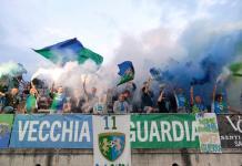 Tifosi della Feralpi Salò, foto da pagina Facebook ufficiale