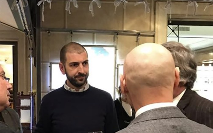 Il coordinatore provinciale di Fratelli d'Italia Giangiacomo Calovini, foto da Facebook