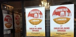 La sede di Sinistra a Brescia co Del Bono, in corso Mameli