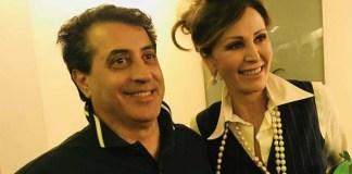 Gianfranco Acri (Fdi) con Daniela Santanche, foto da Facebook