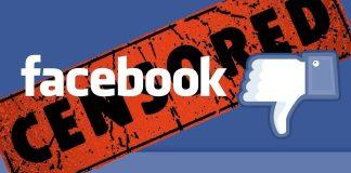 Censura di Facebook