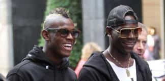 Enock Balotelli e Mario Balotelli