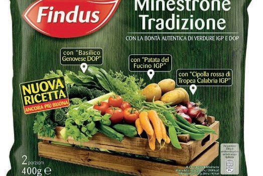 Minestrone Findus, foto generica