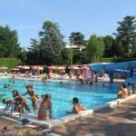 Una delle piscine del parco acquatico Le Ninfee