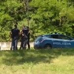 Controlli della Polizia al parco, foto d'archvio