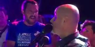 Matteo Salvini alla Festa della Lega di Adro