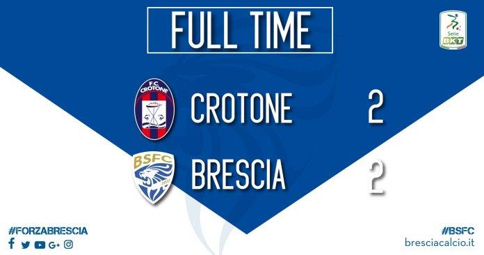 Crotone - Brescia: 2-2