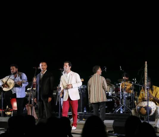 L'orchestra di piazza Vittorio all'ex Cava Burgazzi di Rezzato per il Festival X Giornate di Brescia, foto Filippo Venezia