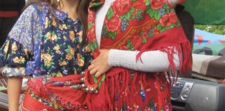 Donne nomadi, foto d'archivio