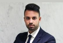 Il giovane imprenditore Federico Marini