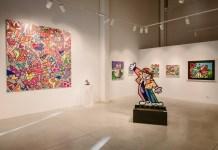 La mostra di Romero Britto all'Outlet Franciacorta di Rodengo Saiano