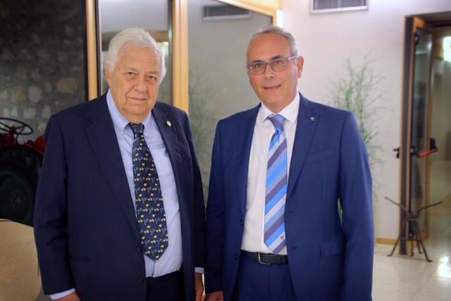 Alberto Rotondo e Francesco Cappa, Rotary