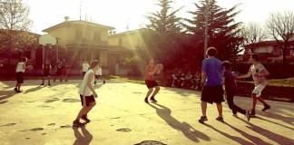 L'ex campetto da basket di via Marcolini a Coccaglio, foto da pagina Facebook