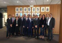 Delegazione di imprenditori giapponesi in Aib