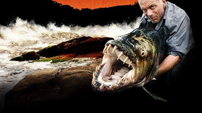 Jeremy Wade di River Monsters è arrivato sul Lago d'Iseo per cercare i siluri giganti