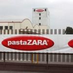 Lo stabilimento di Rovato di Pasta Zara