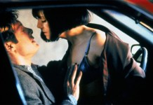 Sesso in auto, una scena dal film Crash