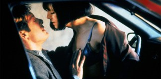 Sesso in auto, una scena dal film Crash