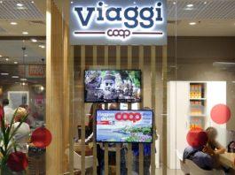La sede di un'agenzia Viaggi Coop: Brescia ospita la prima in Lombardia