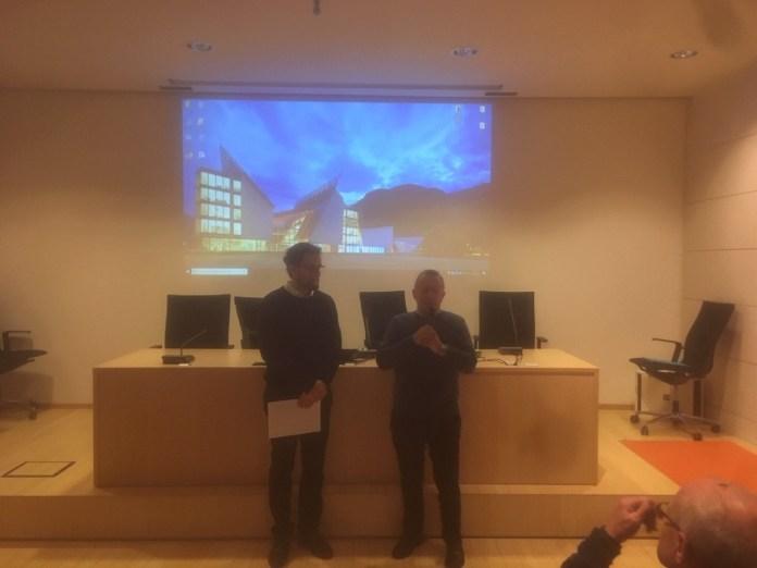 Un momento della cerimonia del Premio Ciapetti