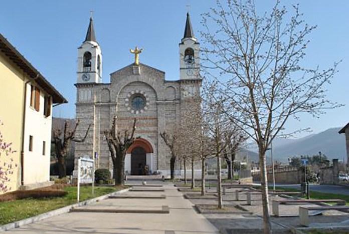 La chiesa di Cristo Re a Rodengo Saiano