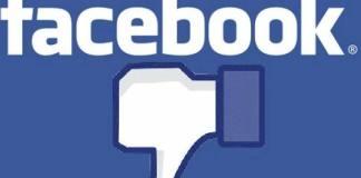 Nuovi problemi per Facebook, foto generica