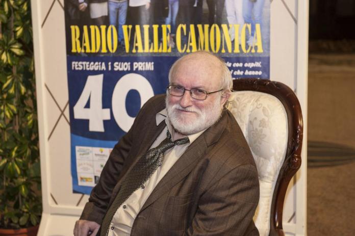 Mauro Fiora, fondatore di Radio Valle Camonica