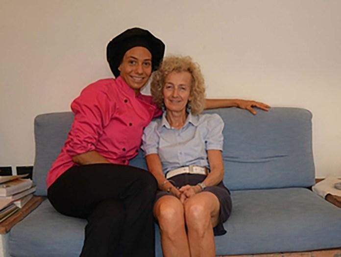 Sara Scalvini con la madre Marilena, foto da sito ufficiale