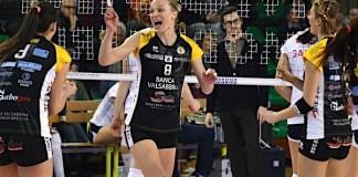 Valsabbina in azione, Foto Molaschi per Baloo Volley, inviata da Ufficio stampa Valsabbina