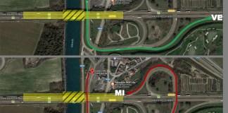 Modifiche alla viabilità dell'autostrada A4 all'altezza del casello di PeschieraModifiche alla viabilità dell'autostrada A4 all'altezza del casello di Peschiera