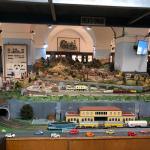 La sala con il plastico dei treni nel castello di Brescia, foto BsNews.it