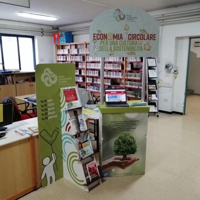 I corner per l'economia circolare nelle biblioteche