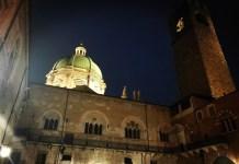 La cupola del Duomo di Brescia vista dal cortile del Broletto, foto Rossella Papale per BsNews.it