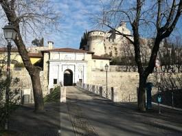L'ingresso del Castello di Brescia, foto Rossella Papale per BsNews.it