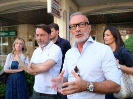 Massimo Tacconi e Gianpaolo Natali Gianpaolo. Ph Fotolive /Filippo Venezia