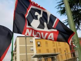 Bandiere di Forza Nuova