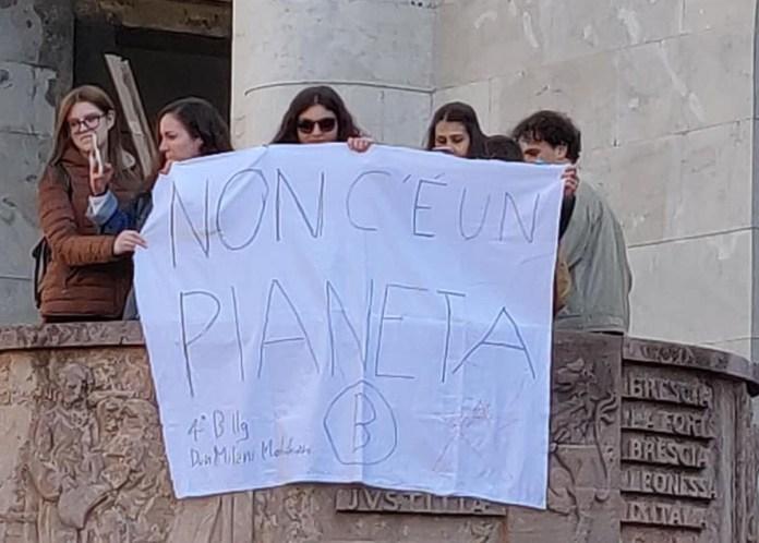 Manifestazione Marcia per il clima