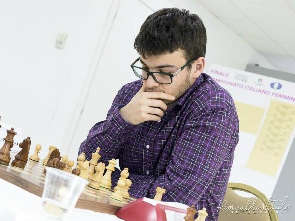 Lorenzo Lodici, campione italiano di scacchi originario di Brescia, foto da ufficio stampa