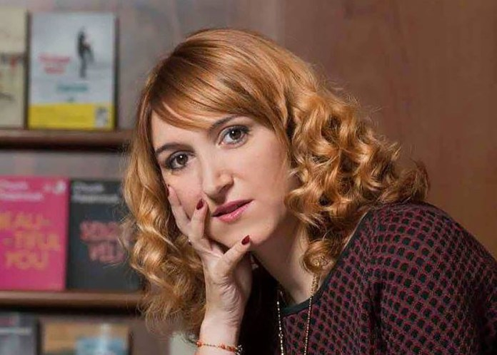 La poetessa Isabella Leardini, foto da Facebook