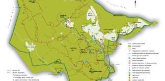 La mappa dell'Altopiano delle Cariadeghe, foto da sito ufficiale
