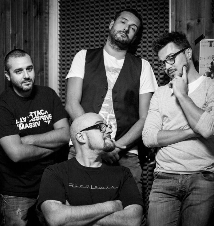 La band bresciana dei Supercollider, foto da ufficio stampa