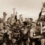 Rugby Kawasaki Calvisano in festa per lo scudetto, foto da pagina Facebook ufficiale