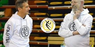 Ferruccio Perini e Matteo D'auria, capisaldi per la prossima stagione giovanile Millenium - Foto Jacini - Millenium