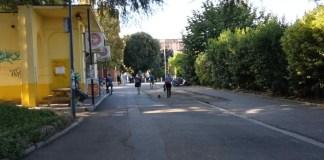 Area libera da gazebo in piazza repubblica