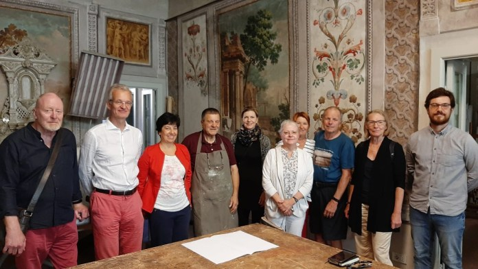 Gruppo Finlandesi con Renato e Ivana Giangualano