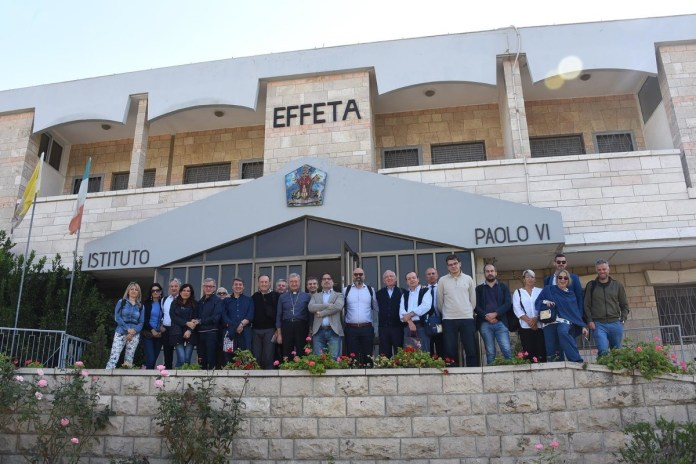 Delegazione bresciana a Effeta - Betlemme