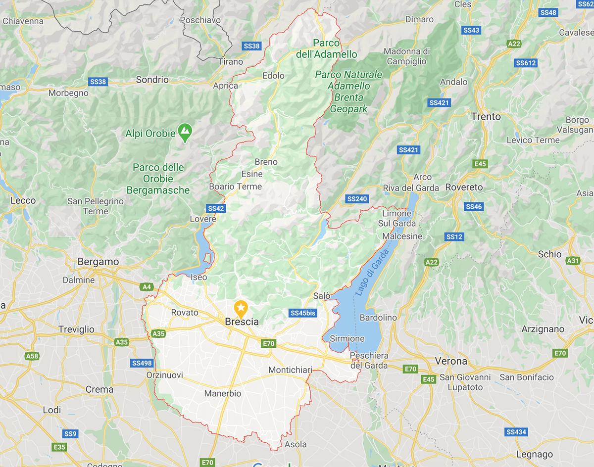 Cartina Geografica Cartina Comuni Della Provincia Di Cremona.Coronavirus L Elenco Dei Comuni Bresciani Con Casi Di Positivita E Decessi Aggiornato Al 14 06 2021 Bsnews It Brescia News