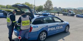 Controlli della Polizia, foto Questura