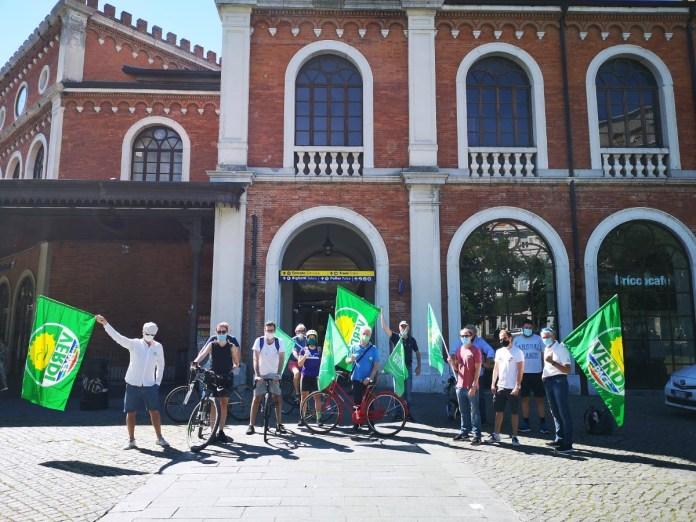 Protesta di Europa Verde Brescia